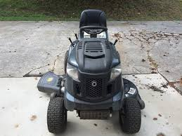 troy bilt xp horse xp hydrostatic 46 in riding lawn mower with