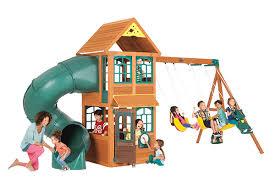 Big Backyard Savannah Playhouse by Products Big Backyard Play Set