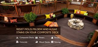 Composite Patio Pavers by Concrete Stain U0026 Dock Protector Wood Deck U0026 Composite Deck
