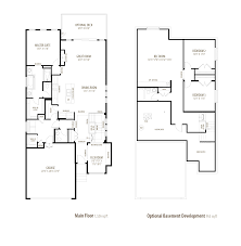 Princeton Housing Floor Plans by Princeton Morrison Homes
