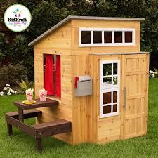 Kids Backyard Play Set by Wooden Playhouses For Kids Kids Backyard Toys