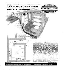22 home basement fallout shelter plans bomb shelters fallout