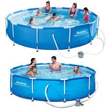 bestway 10 foot swimming pool brand new in box in alsager
