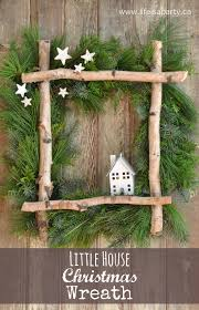 christmas crafts diy christmas wreaths coat hanger birch and