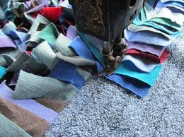 Where To Buy Rag Rugs Make A Shag Rag Rug In A Few Hours Homesteading And Livestock