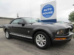 ford mustang 2009 convertible 2009 ford mustang v6 deluxe in illinois for sale used cars on