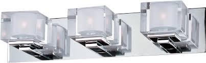 cubic 3 light bath vanity bath vanity maxim lighting