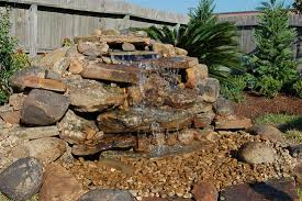 Rock Water Features For The Garden W14 Jpg