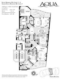 Modern Luxury Floor Plans by Aqua Community Naples Florida Homes For Sale