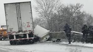 slippery road conditions lead to car crashes speed restrictions