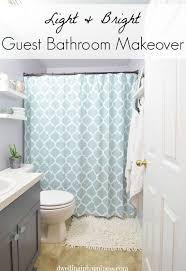 light u0026 bright guest bathroom reveal hometalk