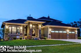 prairie style house plan 81636ab amazing prairie style home plan photo iowa