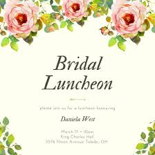 bridal luncheon invitations customize 113 luncheon invitation templates online canva