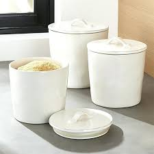 pottery kitchen canisters canisters for kitchen bloomingcactus me