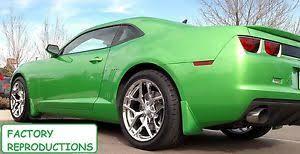 wheels camaro z28 4 20x9 20x10 stagged chrome z28 style fits 2010 2017 camaro