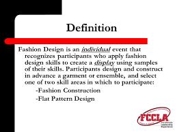 design event definition new star event demonstration fashion design a note from national