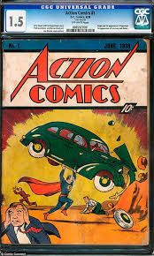 picture round up superman man of steel jack the giant killer workman finds 100 000 first edition superman comic book while