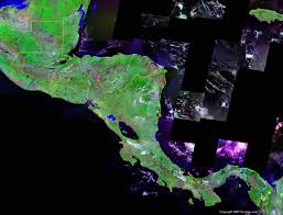 Map Of South And Central America Central America Map And Satellite Image