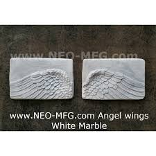 amazon com angel wings wall art sculpture plaque home decor set