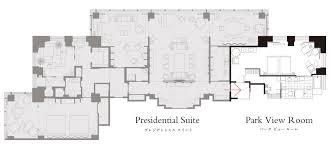 Presidential Suite Floor Plan by Presidential Suite Suite Rooms Park Hyatt Tokyo