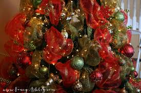 wonderful decoration deco mesh christmas tree a c moore