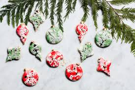 ornaments ornament cookies watercolor