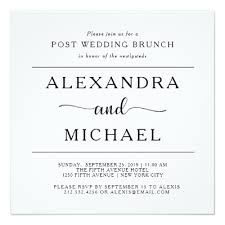 post wedding brunch invitations post wedding brunch invitations zazzle