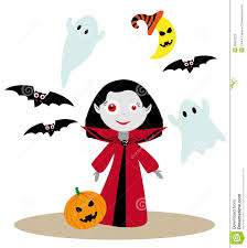 little vampire stock vector image 45823224