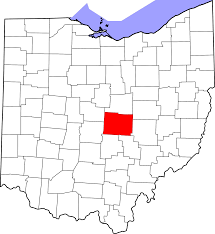 Ohio Map With Cities by File Map Of Ohio Highlighting Licking County Svg Wikimedia Commons