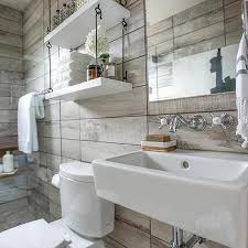 Bathroom Shelving Over Toilet by Recessed Shelves Over Toilet Transitional Bathroom