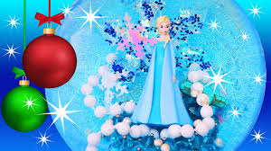 frozen elsa bauble ornament make your own how to