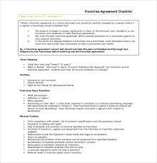 15 franchise agreement templates u2013 free sample example format