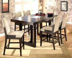 tall white kitchen table tall dining set cool black 5 bar height dining set room sets at