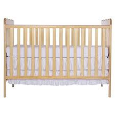 natural wood crib amazon com