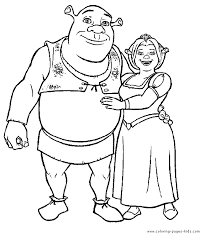cartoon characters coloring pages cool 5114 unknown