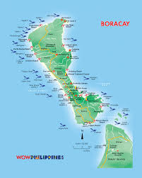 Philippine Map Boracay Island Map For Your Travel References Travel Pinterest
