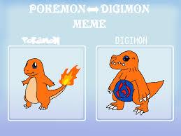 Charmander Meme - pokemon digimon meme charmander charmon by skyewars on deviantart