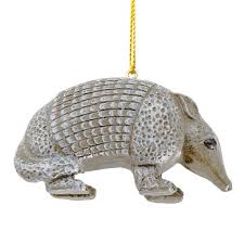 resin armadillo ornament capitol gift shop