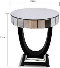 Glass Side Table Art Deco Side Table Side Tables
