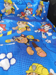 new paw patrol 3 sizes spacesaver cot or cotbed bumper set