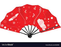japanese fan japanese fan royalty free vector image vectorstock