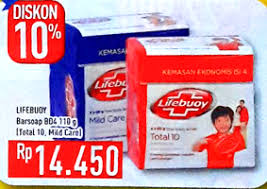 Sabun Lifebuoy promo harga lifebuoy sabun mandi batang terbaru minggu ini hemat id