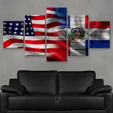 Dominican Republic Flag Hd Printed Limited Edition American Dominican Republic Flag