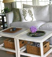 coffee table with baskets under inspiring designs of coffee table with baskets homesfeed