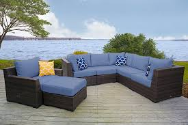 furniture restoration hardware sectionals denim sectional