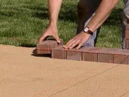 How To Install Pavers Patio How To Create A Brick Patio How Tos Diy