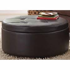 Noah Tufted Storage Ottoman Large Round Storage Ottoman Home Furnishings