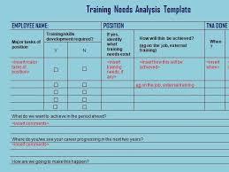 needs assessment template efficiencyexperts us