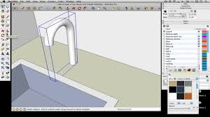 how to draw a tiny house with google sketchup u2013 part 7