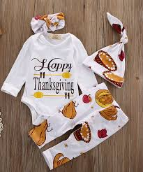 thanksgiving clothes 2017 new newborn infant baby boy letter